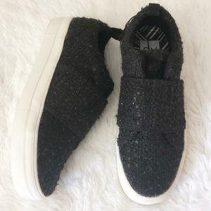 {DV} Black Sparkle Loafers